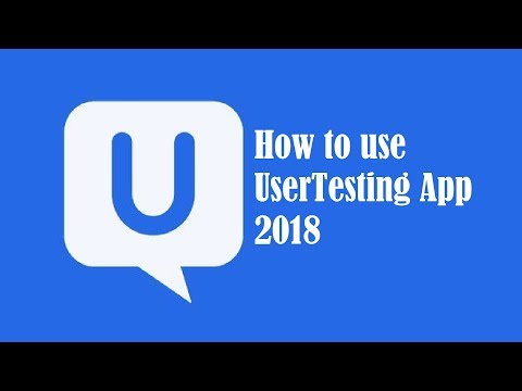 How to Use Usertesting 2018 (Mobile App Version)