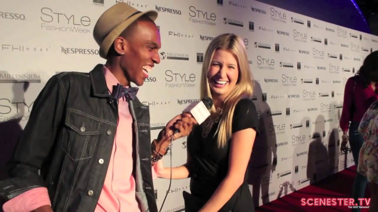 Carmen Dickman At Style Fashion Week 2014 Youtube