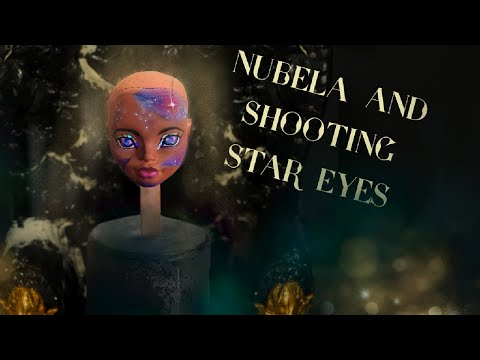 Galaxy Unicorn Mermaid (G.U.M.) OOAK Monster High Doll- Mad Scientist Doll Customs Episode 15 Part1