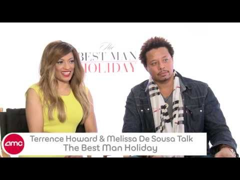 Terence Howard & Melissa De Sousa Talk THE BEST MAN HOLIDAY With AMC