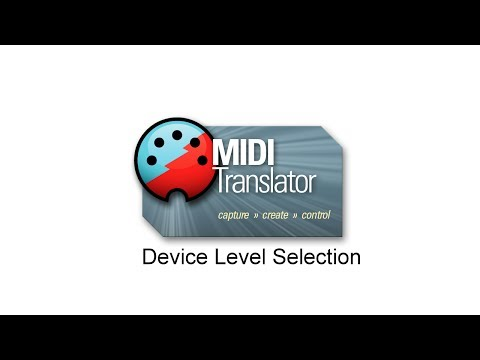 Tutorial: MIDI Device Selection at Project/Preset/Translator level in Bome MIDI Translator Pro