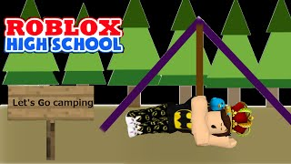 Roblox: Roblox High School | Getting trapped in a cabin while camping! |