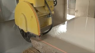 Most Satisfying Factory Machines, Amazing Marble Processing