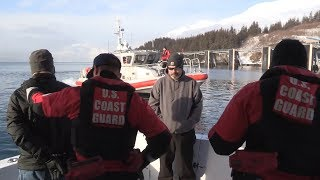 Coast Guard Yacht Boarding - Arctic Eagle 18