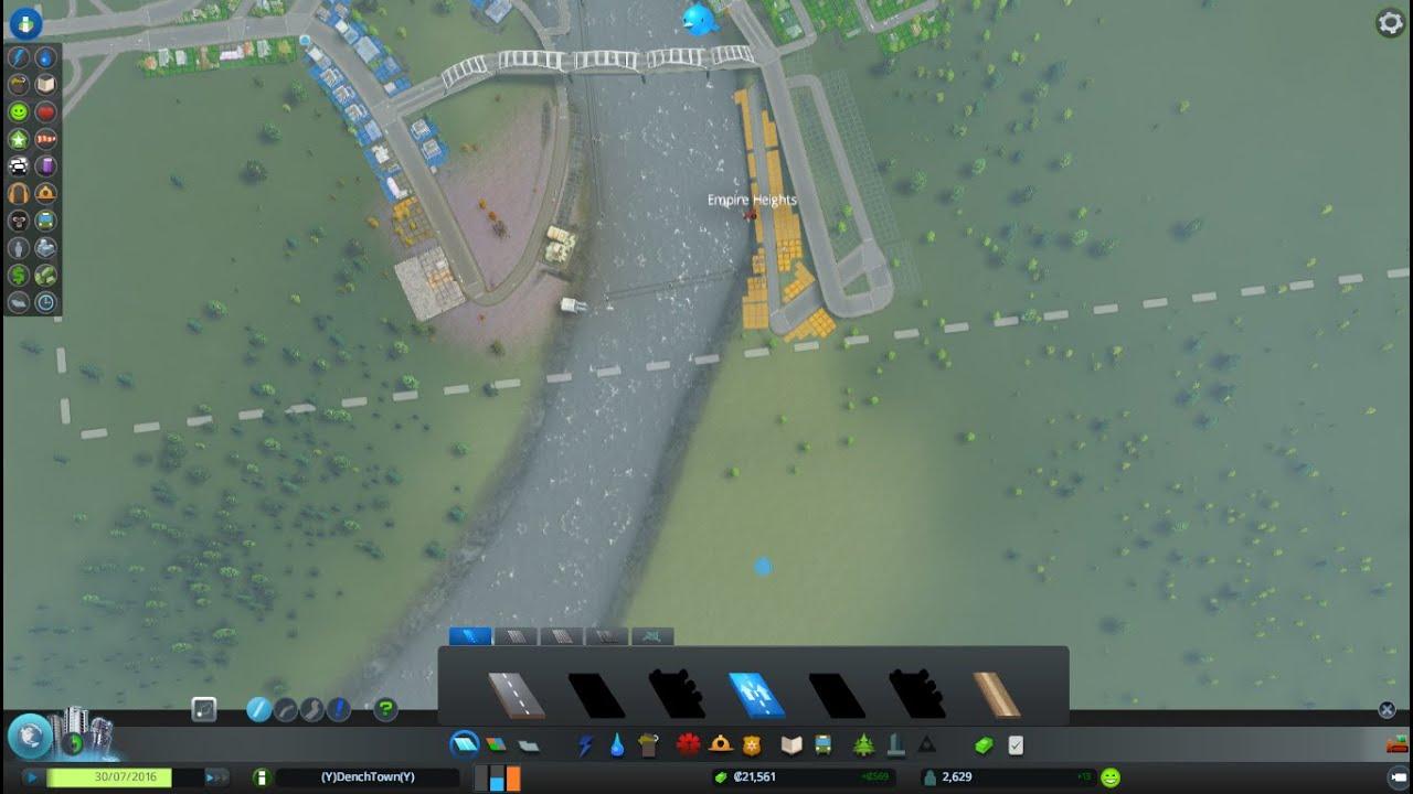 cities skylines how to make underground roads