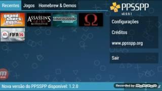 Configuração do PPSSPP GOLD pra o J5