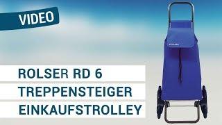 Produktvideo zu Treppensteiger Einkaufstrolley aus leichtem Alu Rolser RD6 Saquet