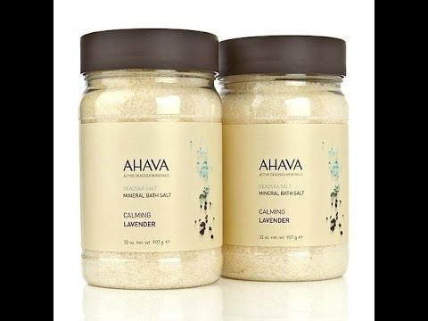Deadsea Mineral Bath Salt Duo  Natural