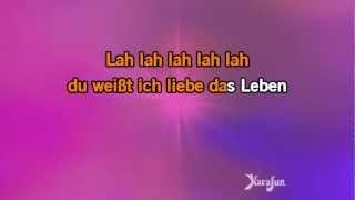 Karaoke Ich liebe das leben - Vicky Léandros *