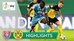 KFC Uerdingen - Borussia Dortmund 0:2 | Highlights - DFB-Pokal 2019/20 | 1. Runde