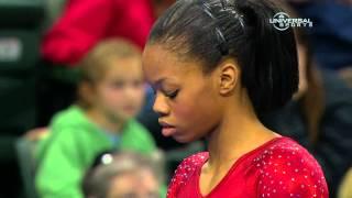 Gabrielle Douglas dominates Uneven Bars - Universal Sports