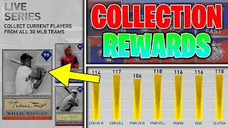 ALL COLLECTION REWARDS IN MLB THE SHOW 19 DIAMOND DYNASTY