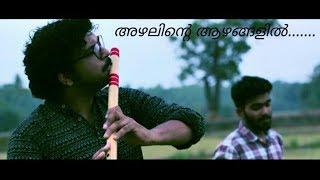 Azhalinte azhangalil - unplugged Flute cover by | Midhun Malayalam | Amalraj | Bijohn Sunny |