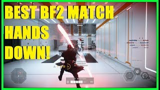 Star Wars Battlefront 2 - THE MOST INTENSE BF2 MATCH IN HISTORY! ABSOLUTELY AMAZING GAME!