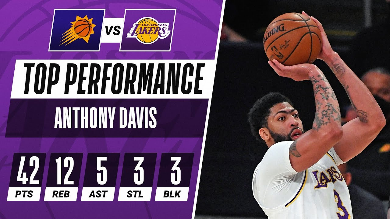 AD DOMINATES In Lakers Home Victory! 〰️