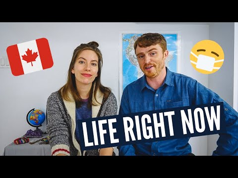 Our LIFE IN CANADA at Home During QUARANTINE | We're NOT Travelling Right Now 🇨🇦😷