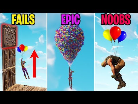 NEW BALLOON FAILS! FAILS vs EPIC vs NOOBS - Fortnite Funny Moments thumbnail