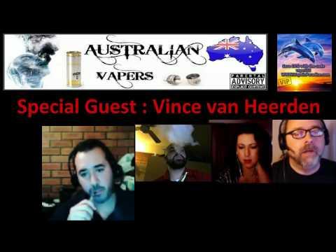 Australian Vapers interview with Vince van Heerden