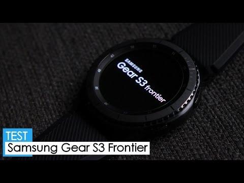 Test : Samsung GEAR S3 FRONTIER