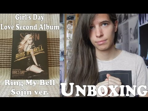Unboxing - Girl's Day Love Second Album - Ring My Bell - Sojin version - 2nd album