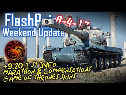 +9.20.1 ST Info, Marathon & Compensation, GoT Skins – FlashPoint (8-4-17)