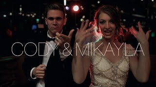 Mikayla & Cody's wedding at Provo City Center Temple – includes epic dance & groom serenade