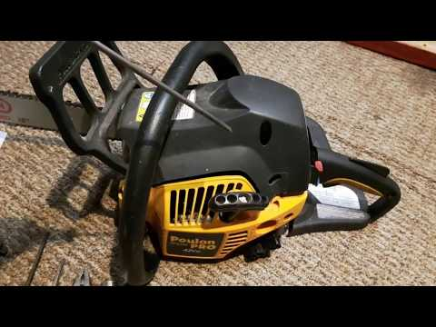 How to change chain saw coil to fix no start stalling or