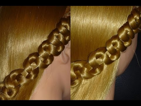Easy and Cute Braid Hairstyle Hair Tutorial. Everyday/ Back To School Hairstyles.Penteados