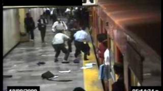 Subway station shoot-out in Mexico