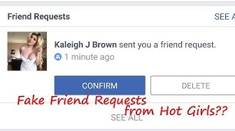 Are you Getting Fake Friend Requests from Hot Girls in Facebook?