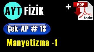 Manyetizma -1 +PDF  AYT Fizik Çek-AP 13 çekap aytfizik