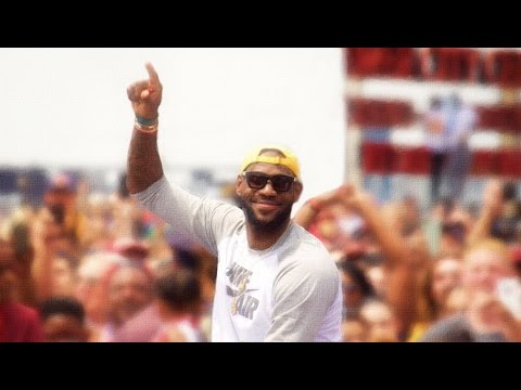 Cleveland Cavaliers 2016 NBA Championship Celebration - ALL IN