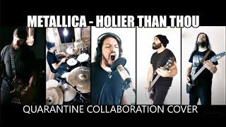"""Metallica's """"Holier Than Thou"""" cover by ALL TOMORROWS, SOBERNOT, WILD RAGE, PERRO LOCO & MACKINDER"""