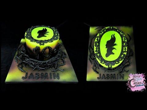 Cake Birthday Maleficent