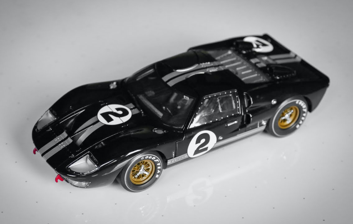 review 118 scale 1966 ford gt40 mk ii 2