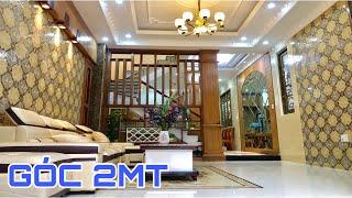 Bán nhà Gò Vấp( 59 )4.2 x 15m Góc 2MT 3 lầu thiết kế đẹp tặng full nội thất  Nhà đất Huy Hùng