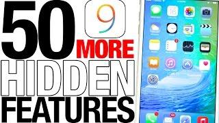 50 MORE iOS 9 Hidden Features!