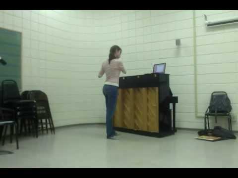 Bach Sonata Siciliano, E flat, Kayleigh Ferguson