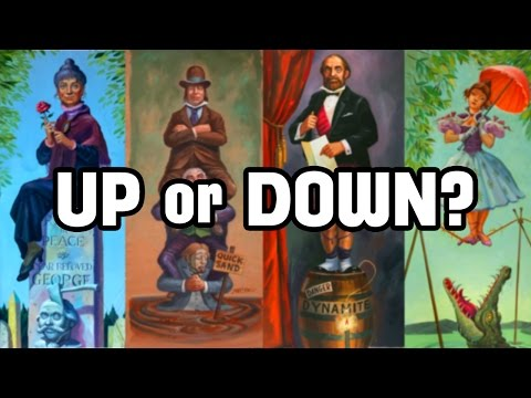 Up or Down? The Haunted Mansion Stretching Room