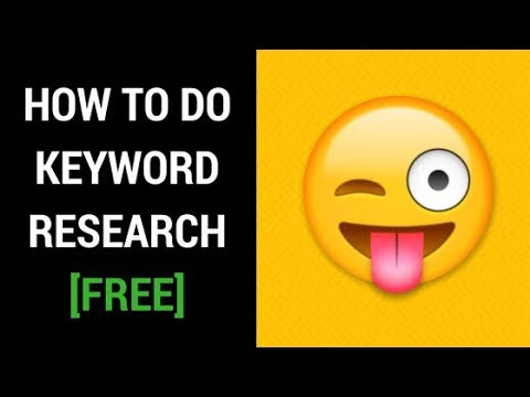 How To Do Keyword Research For Free [Step-by-Step Guide]