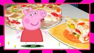Готовим вместе с Пепой торт Битое стекло. Свинка Пеппа готовит,