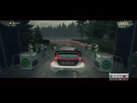 DiRT 3 PC | Just a little Replay on a Rally Stage :)