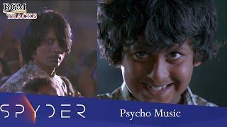 Spyder Psycho Music (Villain Theme) | Spyder BGMs | Mahesh Babu BGMs | Harris Jayaraj BGMs