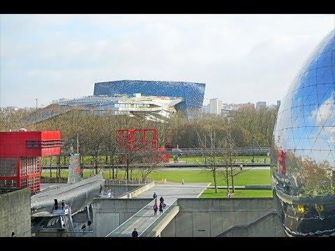 Places to see in ( Paris - France ) Parc de la Villette
