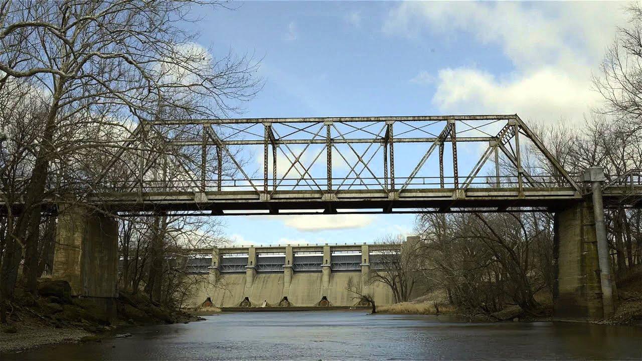Time Lapse Video of Fall River Dam, Fall River, Kansas