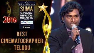 Siima 2016 Best Cinematographer Telugu | K.K.Senthil Kumar - Baahubali