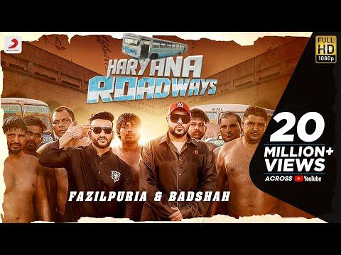 Badshah & Fazilpuria - Haryana Roadways | Latest Hit Song 2020