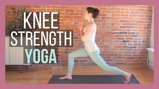Yoga for Knee Strength {25 min}