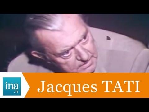 """Jacques Tati """"l'importance du court-métrage"""" - Archive INA"""