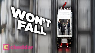Why Movies Are Wrong About Elevator Free Falls - Cheddar Explains